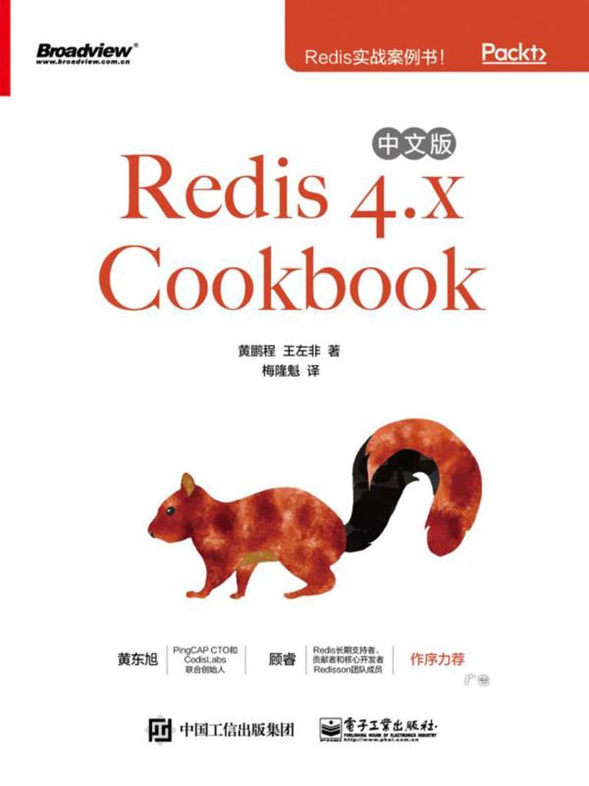 Redis 4.x Cookbook 中文版