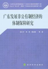 广东发展非公有制经济的体制保障研究
