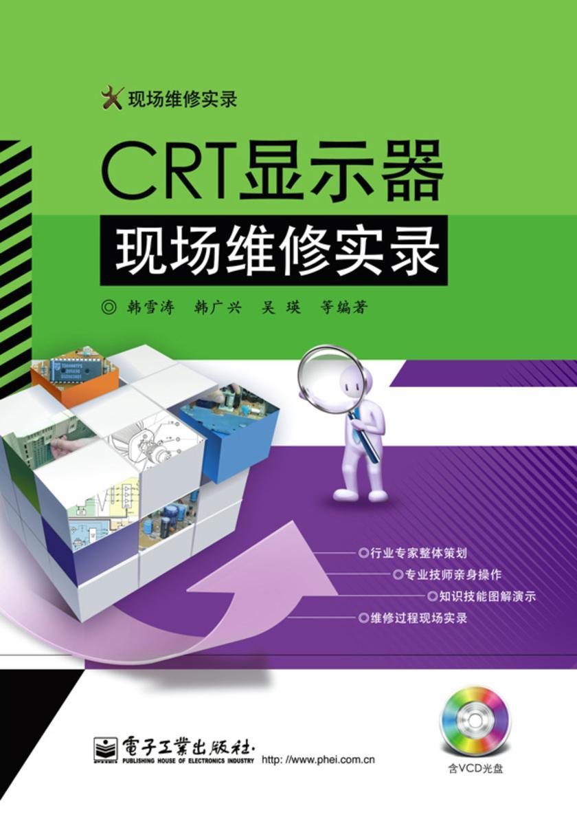 CRT显示器现场维修实录(含VCD光盘1张)