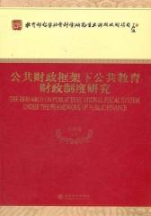 公共财政框架下公共教育财政制度研究(仅适用PC阅读)
