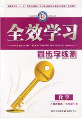 全效学习系列丛书:上海教育版.九年级化学.下(仅适用PC阅读)