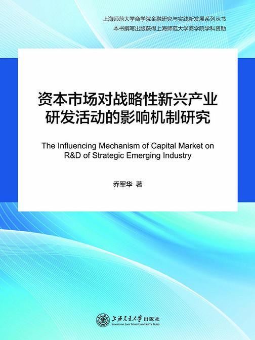 资本市场对战略性新兴产业研发活动的影响机制研究