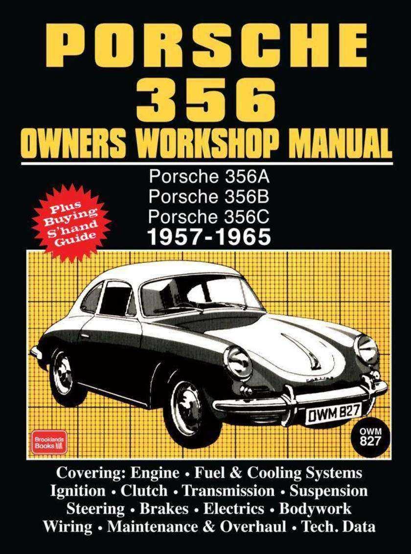 Porsche 356 Owners Workshop Manual 1957-1965