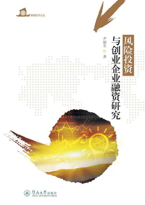 暨南经济文丛·风险投资与创业企业融资研究