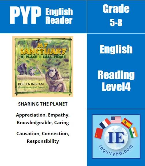 PYP: Reader- 3- Endangered & Rescued Animals My Sanctuary, A Place I Call Home