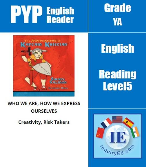 PYP: Reader-3- Bible Inspired Adventures The Adventures of Kaptain Kristian