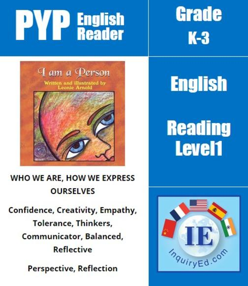 PYP: Reader-1- Individuality & Emotions I Am a Person