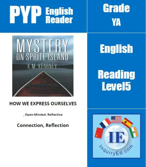 PYP: Reader-3- Mystery, Self-Confidence, Spirituality Mystery on Sprite Island