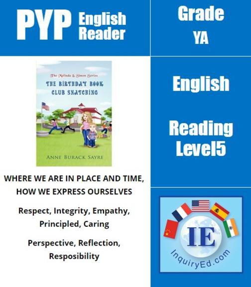 PYP: Reader-3-The American Revolution, Character Building The Birthday Book Club