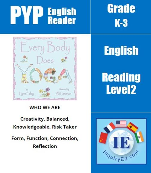 PYP: Reader-2- Yoga, Healthy Bodies Every Body Does Yoga