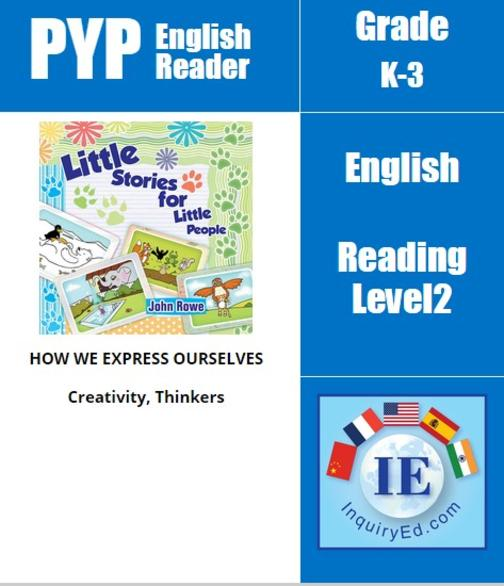 PYP: Reader-1- Problem Solving Little Stories for Little People