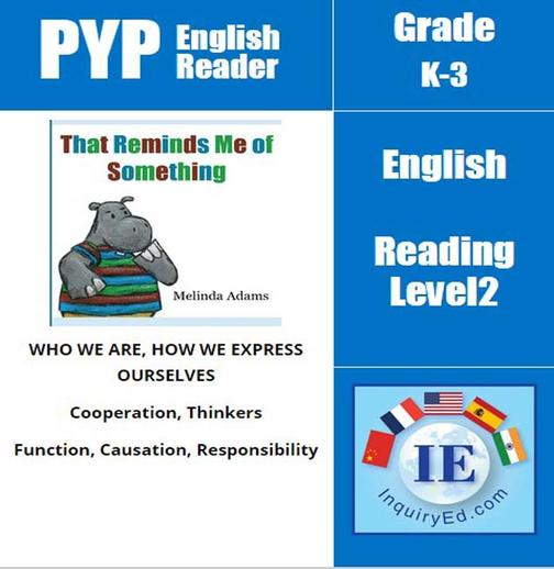 PYP: Reader-1-Forgetfulness & Responsibilities That Reminds Me of Something(仅适用PC阅读)