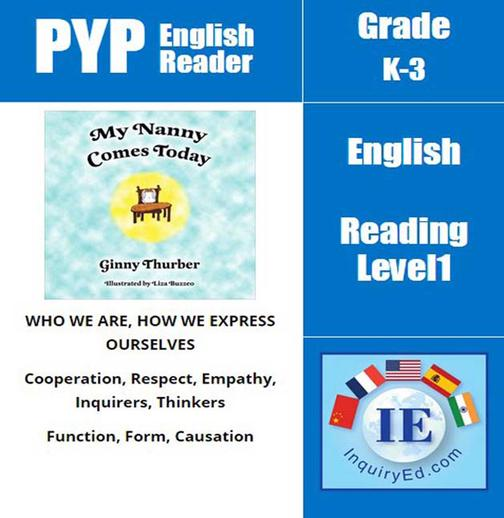 PYP: Reader-1- Worries & fears, Caregiver My Nanny Comes Today