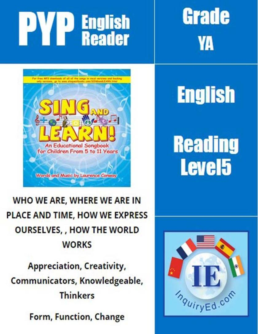 PYP: Reader-3- Music Sing and Learn(仅适用PC阅读)