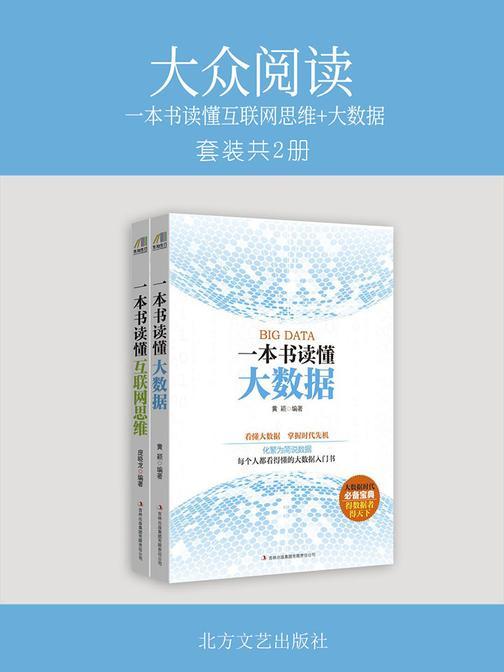 大众阅读:一本书读懂互联网思维+大数据(套装共2册)