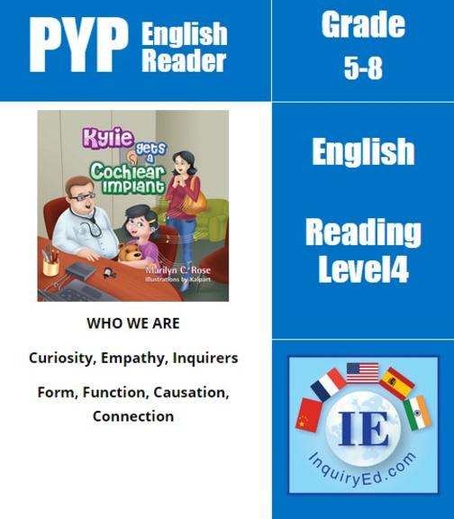 PYP: Reader-2- Hearing Loss, Cochlear Implant Kylie Gets a Cochlear Implant