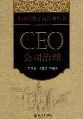 CEO公司治理(中国高级工商管理丛书)