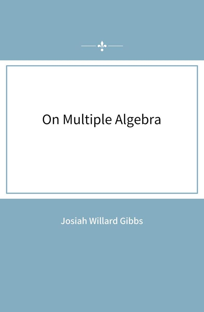 On Multiple Algebra