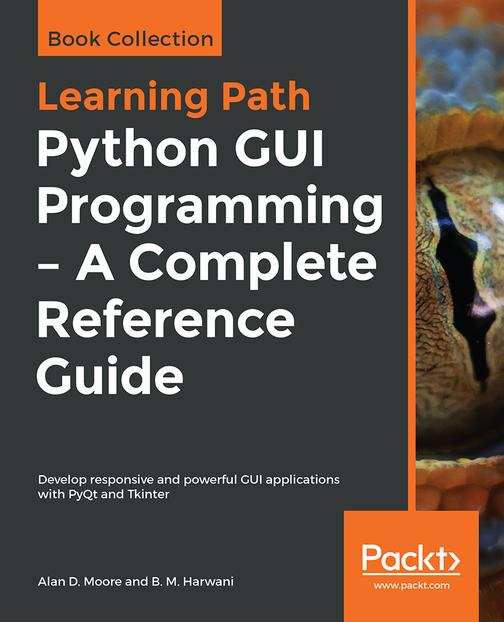 Python GUI Programming - A Complete Reference Guide