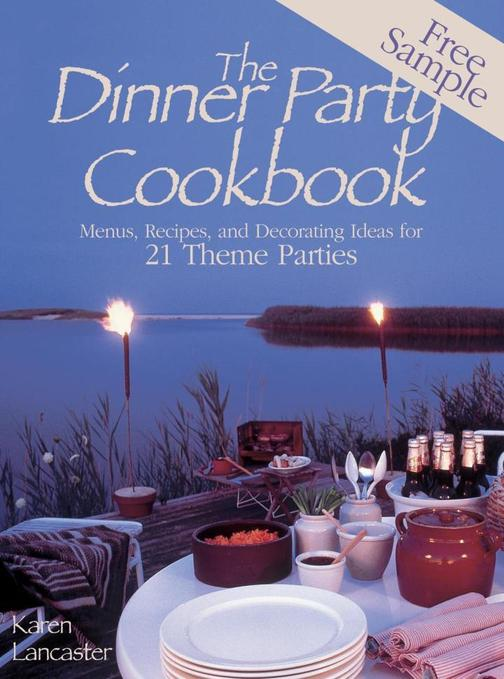 Dinner Party Cookbook—Free Sample
