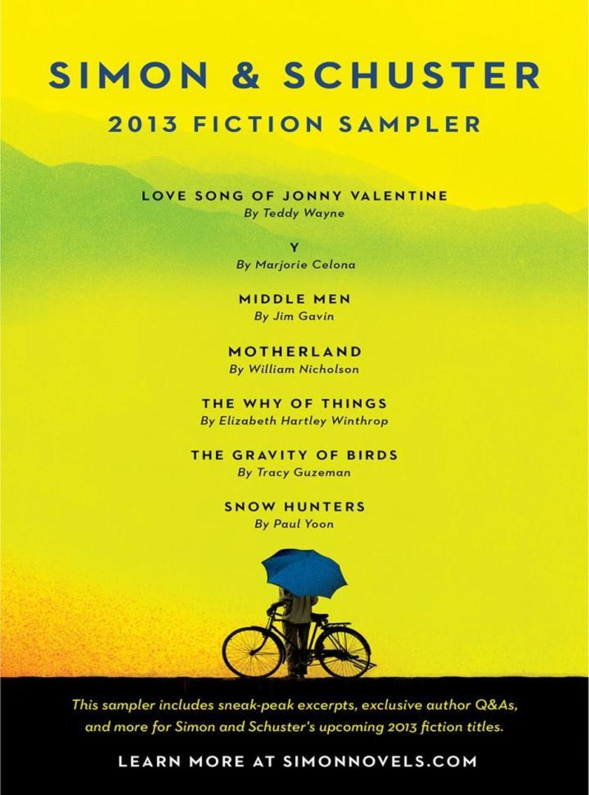 Simon & Schuster 2013 Fiction Sampler