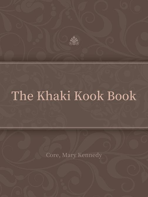 The Khaki Kook Book