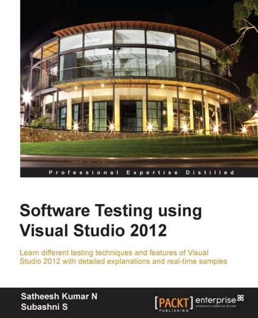 Software Testing using Visual Studio 2012