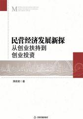 民营经济发展新探:从创业扶持到创业投资