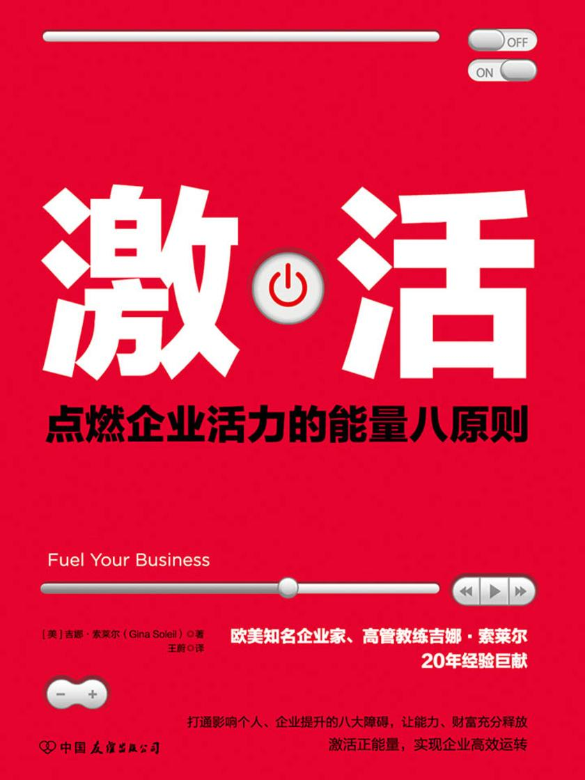 激活:点燃企业活力的能量八原则!