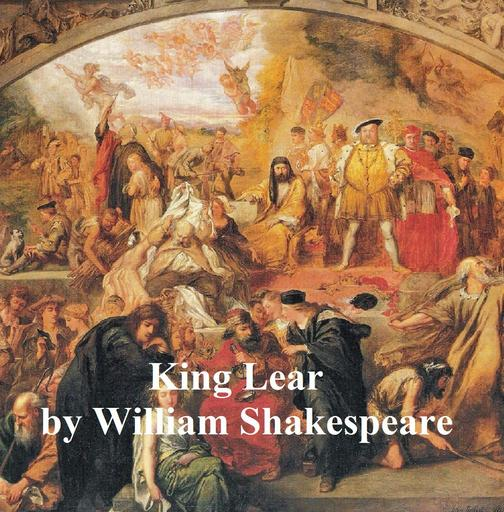 King Lear, with line numbers