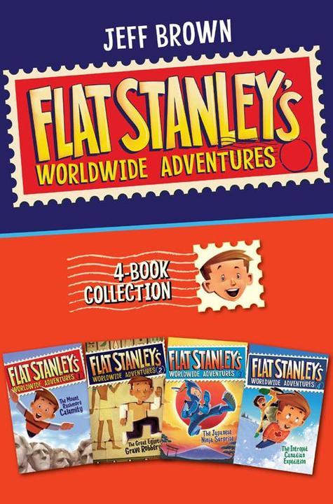 Flat Stanley's Worldwide Adventures 4-Book Collection