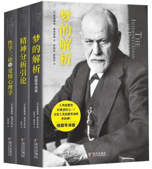 弗洛伊德心理学经典三部曲(套装共三册)