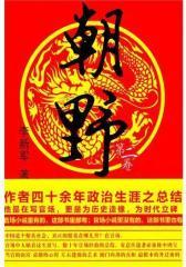 朝野:第二卷(作者为官四十余年政治生涯之总结, 精彩真实的官场小说!)(试读本)
