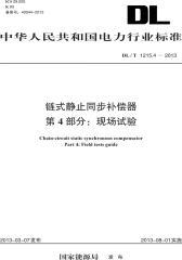 DL/T 1215.4—2013 链式静止同步补偿器 第4部分:现场试验