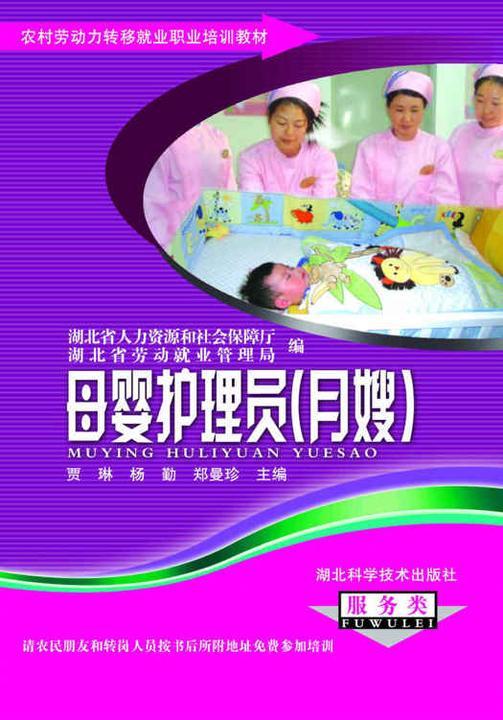 母婴护理员(月嫂)(农村劳动力转移就业职业培训教材丛书)
