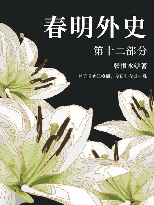 张恨水经典作品:春明外史·第十二部分