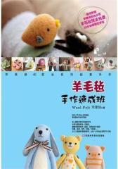 羊毛毡手作速成班(赠作者亲自示范DVD光盘一张,全图解超实用,特别适合初学者)(试读本)