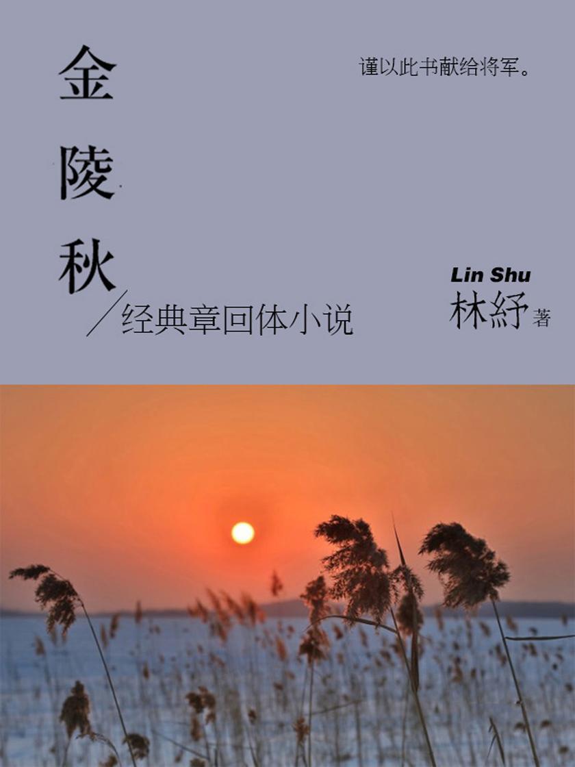 林纾经典小说:金陵秋