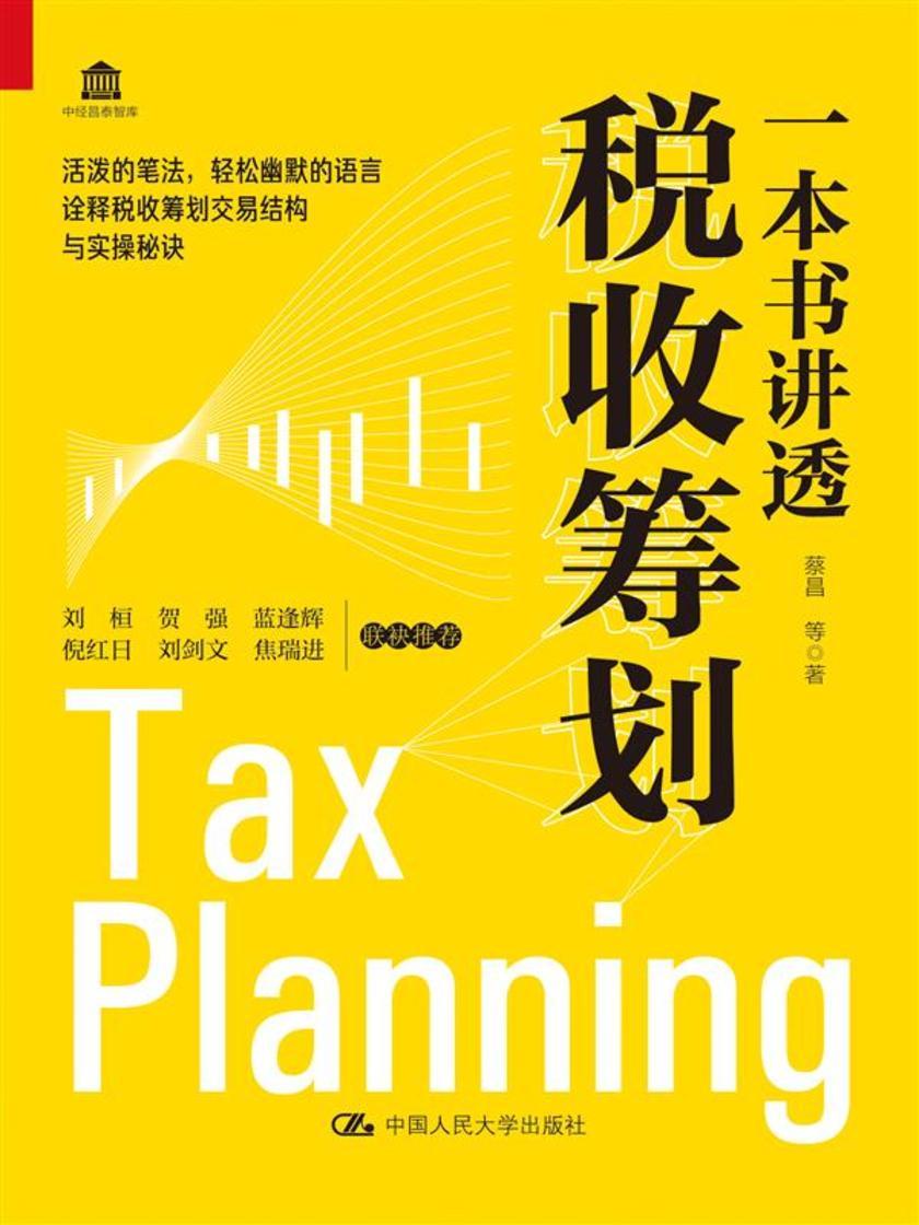 一本书讲透税收筹划
