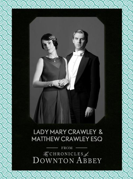 Lady Mary Crawley and Matthew Crawley Esq
