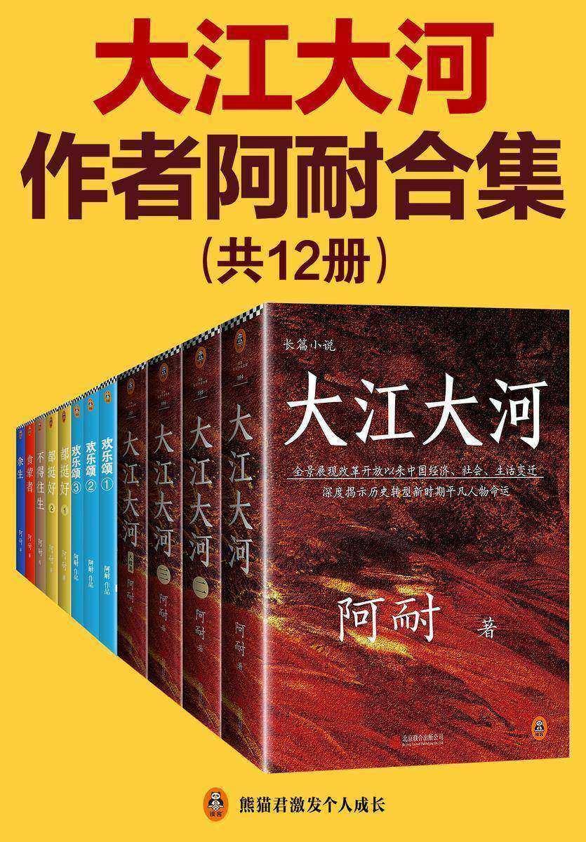 《大江大河》作者阿耐合集(共12册)