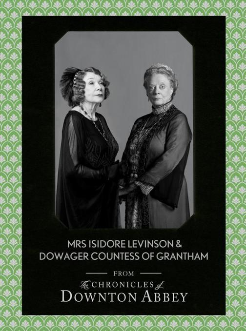 Dowager Countess of Grantham and Mrs Isidore Levinson