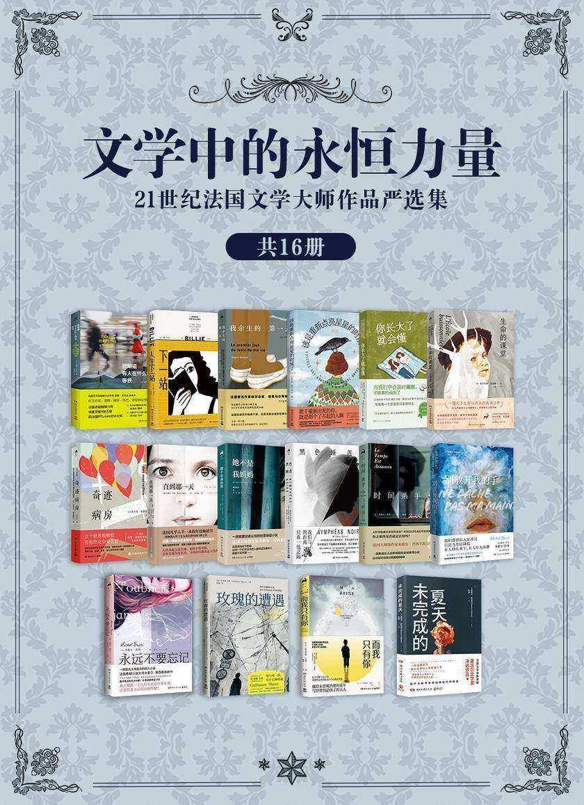 文学中的永恒力量:21世纪法国文学大师作品严选集(共16册)
