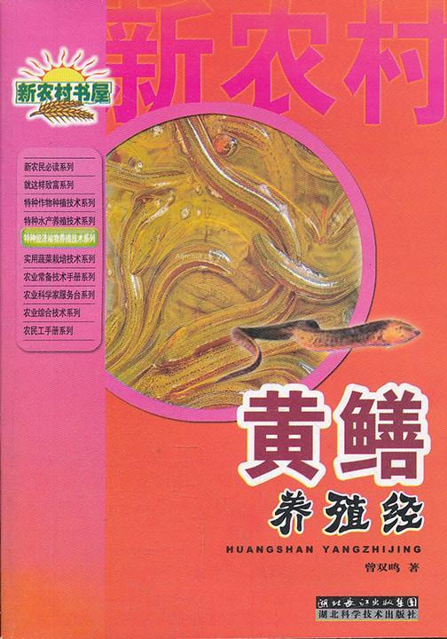 黄鳝养殖经(特种经济动物养殖技术丛书)