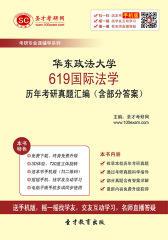 华东政法大学619国际法学历年考研真题汇编(含部分答案)