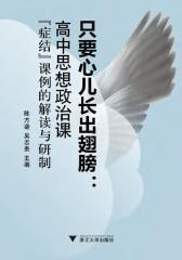 """只要心儿长出翅膀:高中思想政治课""""症结""""课例的解读与研制"""