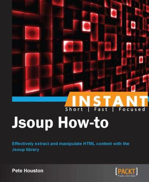 Instant Jsoup How-to