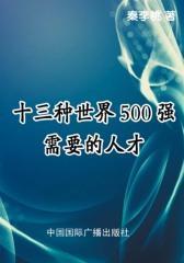 十三种世界500强需要的人才