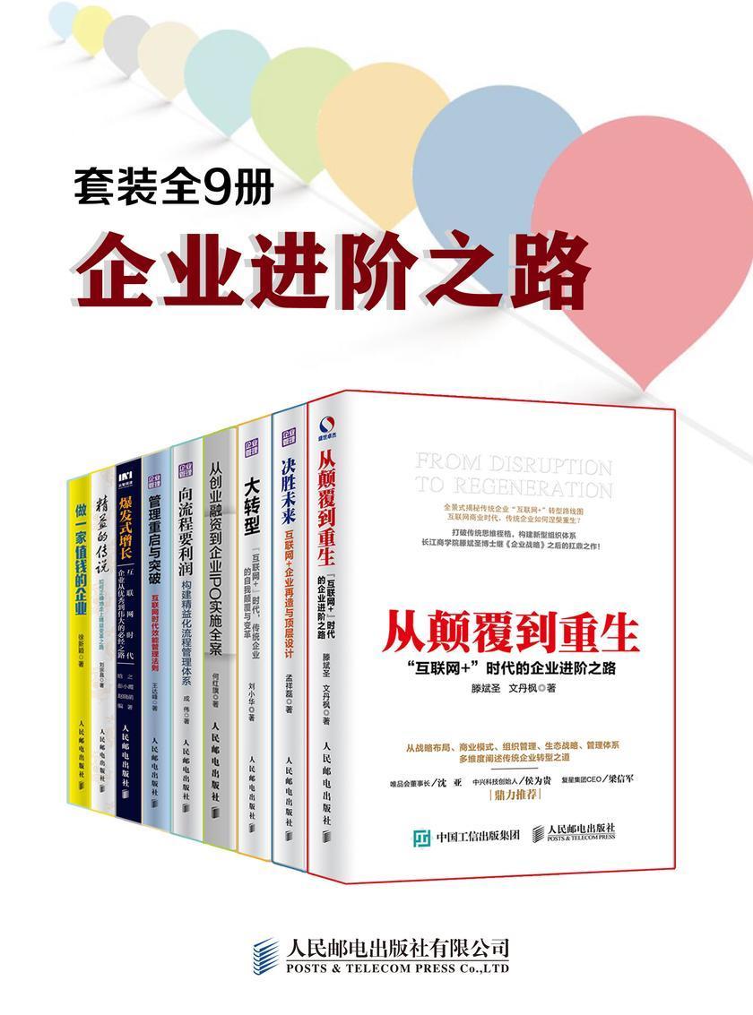 企业进阶之路(套装全9册)