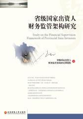 省级国家出资人财务监管架构研究